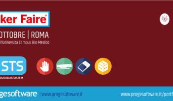 Proge-Software a Maker Faire -16-18 Ottobre Roma