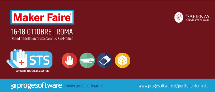 Proge-Software a Maker Faire -16-18 Ottobre Roma