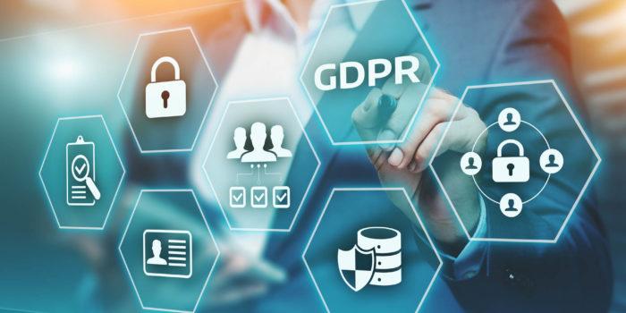 GDPR General Data Protection Regulation Business Internet Technology Concept.